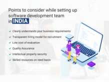 How to set up your own software development team in India