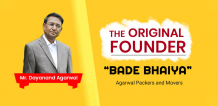 Agarwal Packers and Movers | Bade Bhaiya | DRS Group | Since 1984