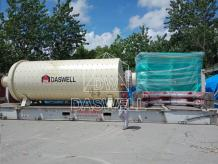 Daswell Sent Ball Mill Plant And Coating Machine To Pakistan Last Month
