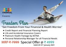 Apply Freedom Plan for Financial Planning and Health Worries