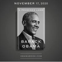 Barack Obama announces his new memoir, Tittle A Promised Land, will be out in November 2020 - KokoLevel Blog