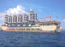 Combined Cycle Power Plant - Steam Turbines for Barge Mounted Industry