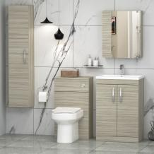 The vanity unit is about style and elegance