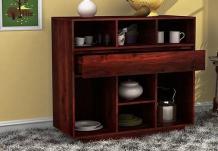 Beauford Kitchen Cabinet (Mahogany Finish)