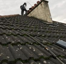 Roof Cleaning Lanarkshire   Moss Removal, Biocide Treated & Protected