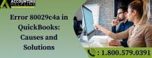 Error 80029c4a in QuickBooks: Causes and Solutions