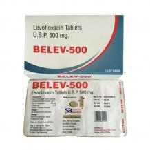 Belev-500 Tablets, Levofloxacin Tablets Usp 500 Mg - Schwitz Biotech