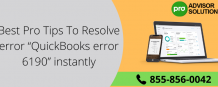 "Best Pro Tips To Resolve error ""QuickBooks error 6190"" instantly"