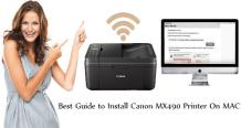 Best Guide to Install Canon MX490 Printer On MAC