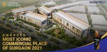 """Bestech Central Boulevard awarded """"Most Iconic Commercial Place of Gurgaon 2021"""""""