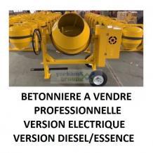Prix de betonniere à vendre   Diesel   Electrique   Professionnelle   Portative