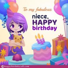 Happy Birthday Wishes for Niece | Birthday Niece Quotes with Images