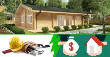 Ein Blockhaus kaufen oder selber bauen?