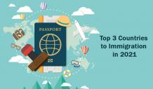 Top 3 Countries to Immigration in 2021 - SCHOLAB OVERSEAS EDUCATION
