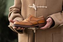 Charles - Men's handmade Leather Shoe by Barker