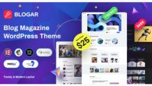 Blogar - Responsive Blog Magazine WordPress Theme by Axilthemes