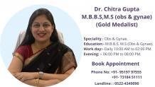 Dr Chitra Gupta, Best Gynaecologist in Gomati Nagar Lucknow | Obs & Gynae Doctor