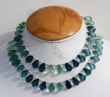 Blue Fluorite Beads