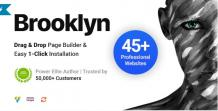 Brooklyn - Creative Multi-Purpose Responsive WordPress Theme - scoopbiz.com