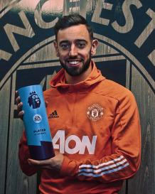 Man United star Bruno Fernandes wins the Premier League Player of the Month award four times in the same calendar year - KokoLevel Blog