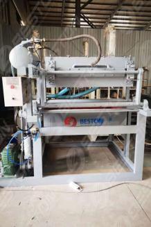 BTF1-3 Egg Tray Making Machine to Zambia - Beston Group