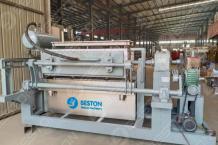 BTF4-4 Egg Tray Making Machine Shipped To Mali - Beston Group