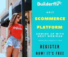 Builderfly   - A DIY Ecommerce Platform Coming Up With Next Webinar - BUILDERFLY