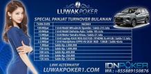 LUWAKPOKER1 merupakan bandar poker online, agen dominoqq, dan merupakan salah satu poker idn terpercaya