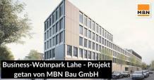 Business-Wohnpark Lahe - Projekt getan von MBN Bau GmbH