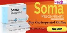 Buy Carisoprodol Online To Speed Up Recovery From Muscle Strain