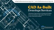 Architectural CAD As-Built Drawings Services – Chudasama Outsourcing