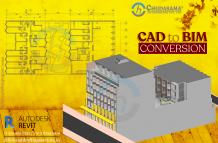 Architectural CAD to BIM Conversion | PDF to Revit BIM Conversion Services - COPL