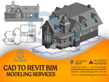 PDF or CAD to Revit BIM Modeling Services