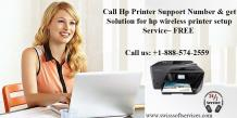 Call Hp Printer Support Number & get solution for hp wireless printer setup service– FREE