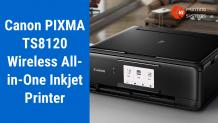 Canon Pixma TS8120 Printer