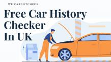 Free Car History Check