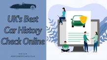 how to get a uk car history check