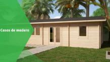 Cómo construir casas de madera en el jardín fácilmente