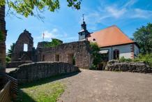 Hochzeit in der Burgkirche in Dreieichenhain