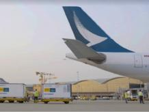 Cathay Pacific delivers first Covid-19 vaccine shipment to Hong Kong