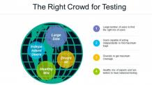 Right crowd for software testing