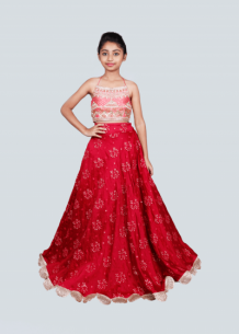 Buy Kids Lehengas Online | Shop Kids Designer Lehengas Online