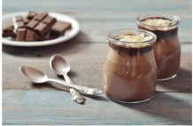 Low Carb Keto Chocolate Gelatin Pudding - Fueldom