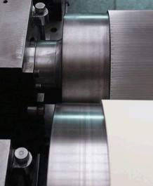 Chrome Plated Corrugated Roll – BKG Corrugating Rollers