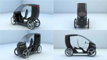 CityQ: an electric car and electric bike – Electric lighter