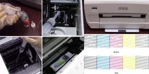 Fix Clogged Epson Print Head Nozzles issues