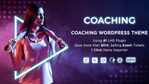 Colead Coaching & Online Courses WordPress Theme - scoopbiz.com