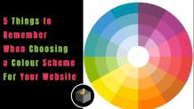 5 Things to Remember When Choosing a Colour Scheme for Your Website