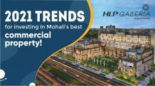 2021 Trends for investing in Mohali's best commercial property! | HLP GALLERIA