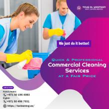 Commercial Cleaning Services in Sharjah
